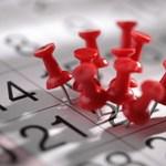 Dátumok és határidők az iskolában: itt vannak a legfontosabb novemberi dátumok