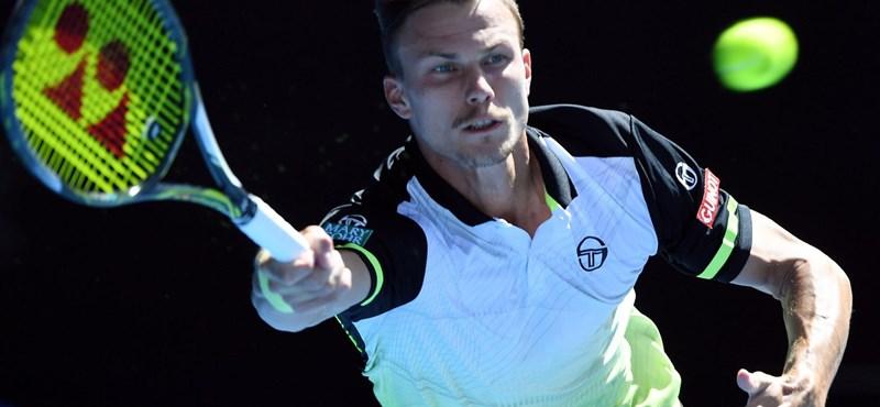 Fucsovics kikapott a nyolcaddöntőben