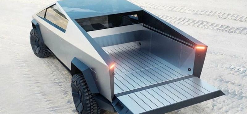 A Lego is kiadta a Tesla Cybertruckot