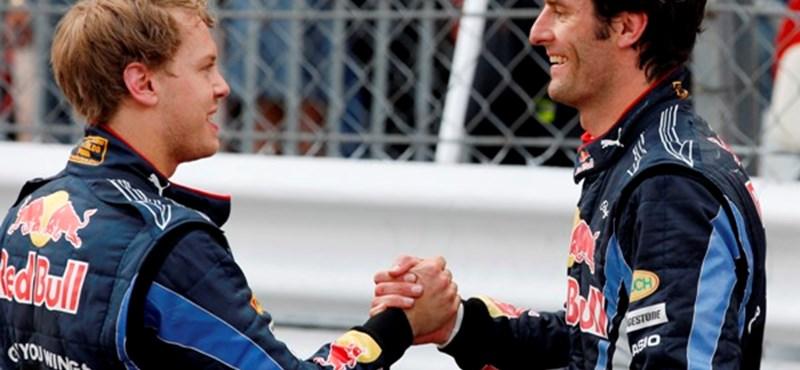 Vettel: félreértik a kapcsolatomat Webberrel