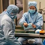 Videóra vették, hogyan épült fel 10 nap alatt egy óriási kórház Kínában