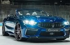 Lezárt jégpályán debütált a 820 lóerős legújabb BMW M8