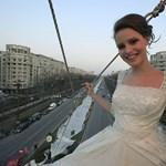 A nap képe: a világ leghosszabb menyasszonyi ruhája