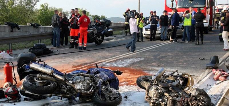 Még egy magyar motoros meghalt Lengyelországban