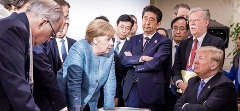 A világ vezetői egy képen - és nem lennénk nyugodtak a világ helyében
