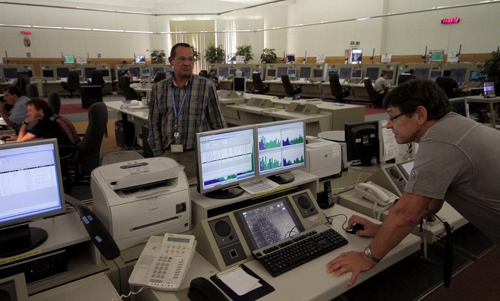 HungaroControl - légiforgalmi irányító központ - nagyítás
