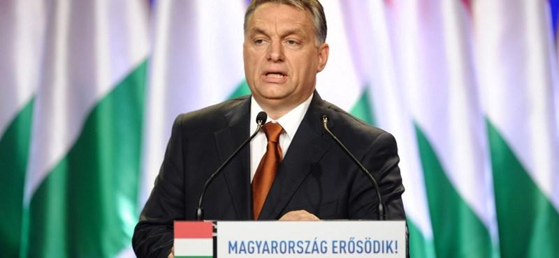 Orbán Viktor évértékelő beszéde - percről percre