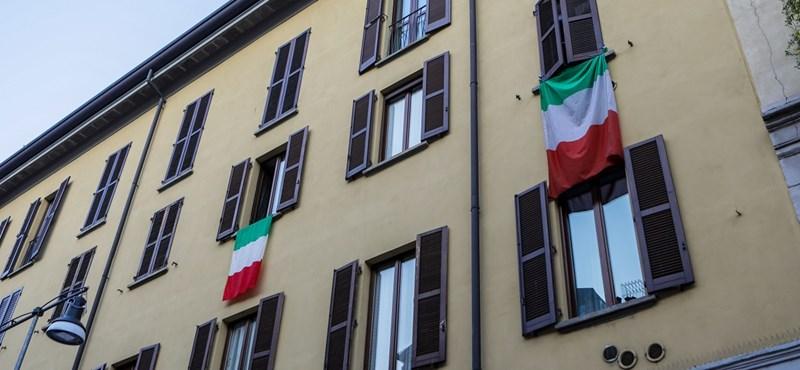 Feljebb kúszott az elhunytak száma Olaszországban
