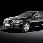 Nincs ennél biztonságosabb Mercedes sehol a világon - fotón