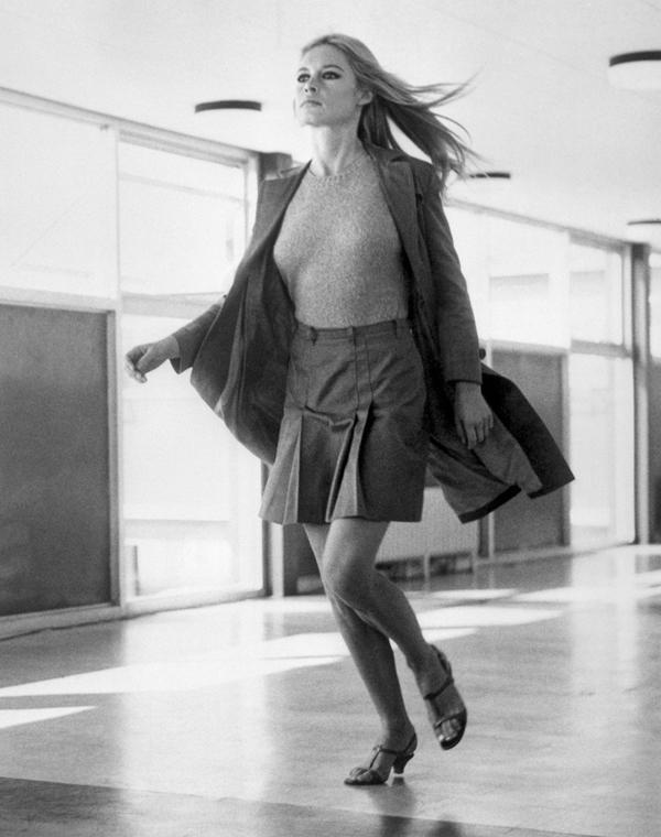 afp.1966.09.22. - London, Egyesült Királyság: jelenet a ''A coeur joie'' című filmből Serge Bourguignon rendezésében - Brigitte Bardot nagyítás