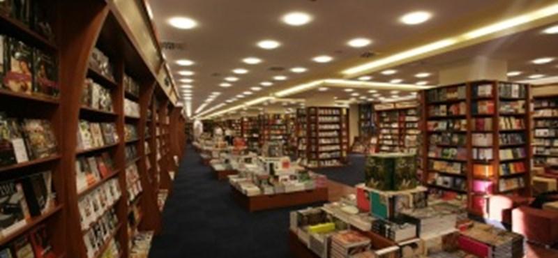 Bezárt egy budapesti Alexandra könyváruház