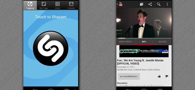 Tévéműsorokat is leleplez a Shazam
