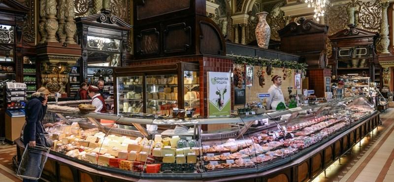 Bezárt a 120 éves Jeliszejevszkij élelmiszerbolt