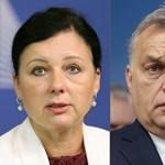 A hét embere: Věra Jourová jogállamisági biztos, aki láthatóan Orbán idegeire megy