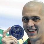 Cseh Laci második lett 100 méter pillangón a vizes vb-n
