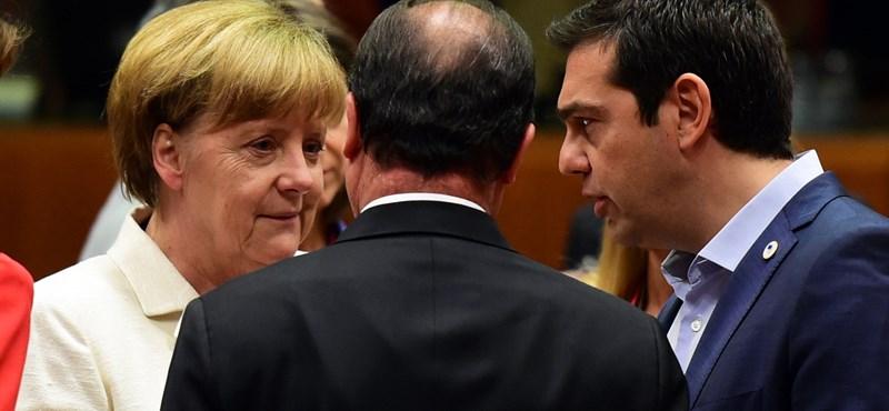 Új görög csomag: szövetségesei is kihátráltak Ciprasz mögül