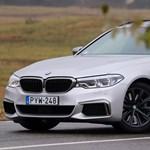 Skizofrénia: teszten a családi dízel BMW, ami 400 lóerős sportkocsi is egyben