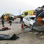 Borzasztó képek jöttek a délutáni halálos baleset helyszínéről