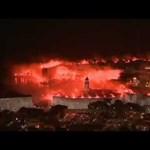 Száz éves a Hajduk, lángokban Dubrovnik
