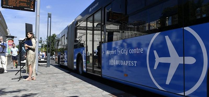 Szombat reggel lehet először az új reptéri busszal utazni