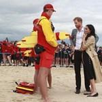 Harry herceg nem tudott elsőre leszállni Ausztráliában