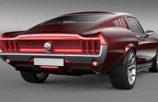 Régi Ford Mustangként támad az oroszok új izom-villanyautója