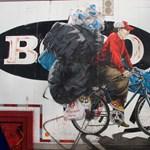 Street art percek: egy adag realizmus Brooklynból