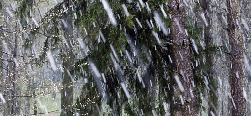 Eső, havas eső, havazás: mindenből lesz egy kicsi