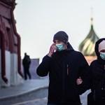 Oroszországban már több mint 520 ezer koronavírus-fertőzött van