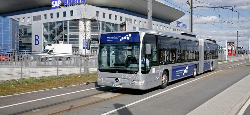 Luxus hibrid buszokat venne Kecskemét
