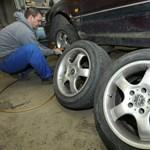 Az új német autógumi menet közben változik téliről nyárira és vissza
