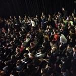 Reggelig a színművészeti egyetemen maradnak a tiltakozó diákok