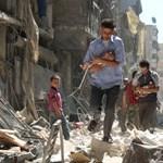 Háborús bűncselekményt követett el Aszad légiereje
