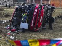 Tizennégyen meghaltak egy buszbalesetben Észak-Macedóniában