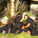 Brutális rendőri akcióról készített videó terjed a YouTube-on