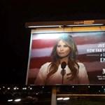 Ez a hirdetés verte ki a biztosítékot sokaknál, óriásplakátra került a first lady