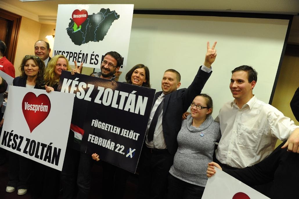 tg.15.02.22. - Veszprémi időközi választások - választások, Veszprém - Kész Zoltán győzelme