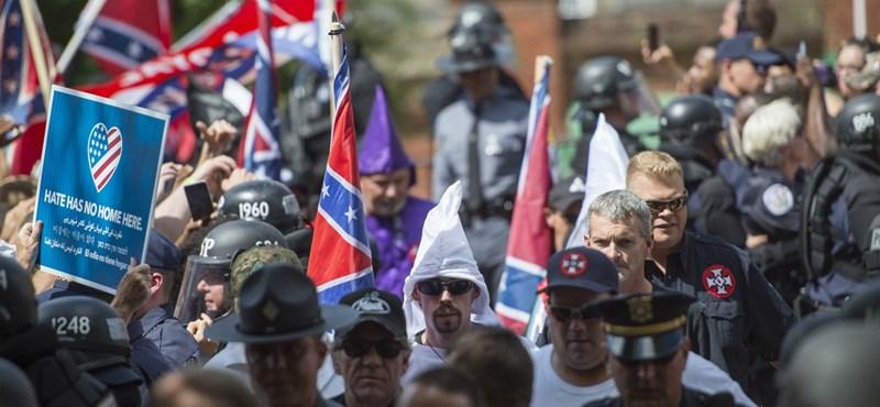 Visszatértek Charlottesville-be a szélsőjobbosok