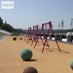 Videó: Vadiúj játszóteret teszteltünk a kánikulában