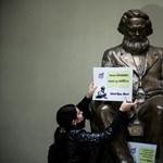 Eltűnik a Corvinus aulájából a Marx-szobor
