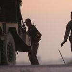 Lengyel katonai konvoj vonul át az országon kedden