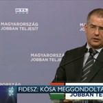 RTL: Elegánsan átlépett Kósa nyilatkozata fölött a Fidesz