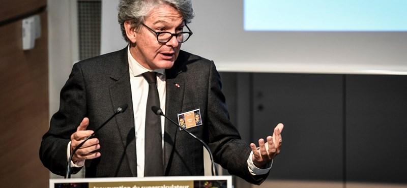Thierry Breton korábbi pénzügyminisztert jelöli uniós biztosnak Emmanuel Macron