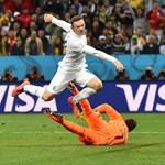 A nap képe: Rooney berúgja élete első vb-gólját