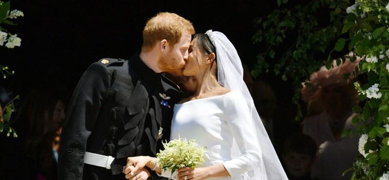 Boldogság élőben: Harry és Meghan kimondta az igent