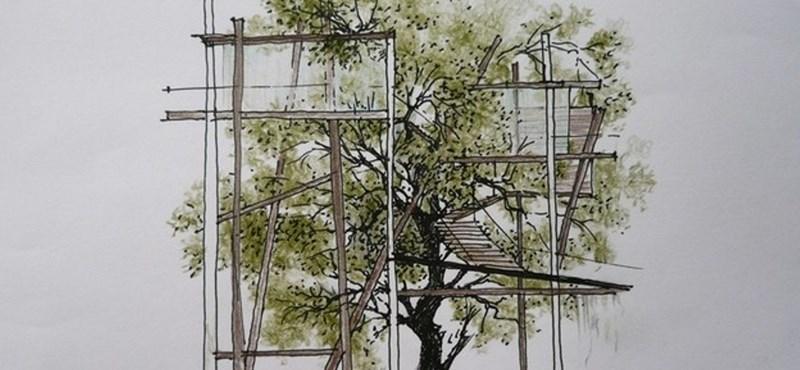 Élő fára települ egy luxus hotel Bangkokban