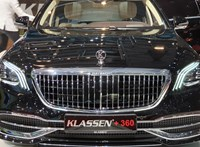 Körbenéztünk a 36 centiméterrel megnyújtott új Mercedes-Maybach utasterében