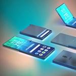 Megmutatjuk: ilyen különleges, hajlítható kijelzős telefont készítene a ZTE