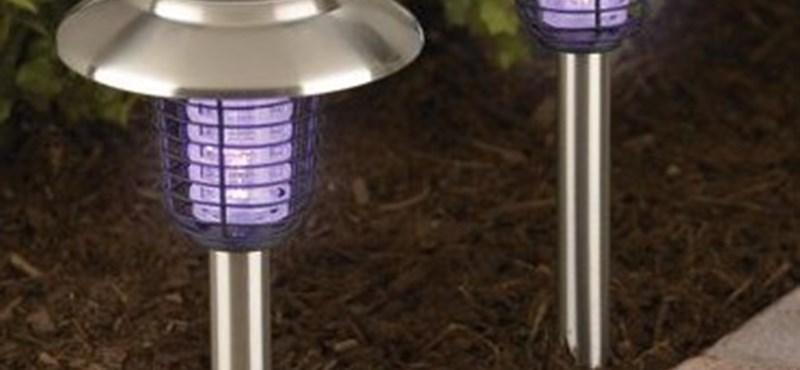 Napelemes rovarcsapda - egyszerű és nagyszerű