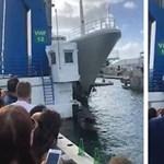 Átrendezett egy kikötőt az Abramovicsnak épült szuperjacht – videó